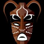 Masque tribal
