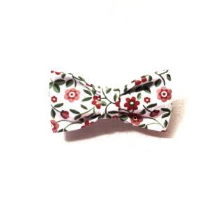 Accessoires - Barrette petit noeud floral