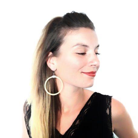 Boucles d'oreilles CIRCUS - Jaune
