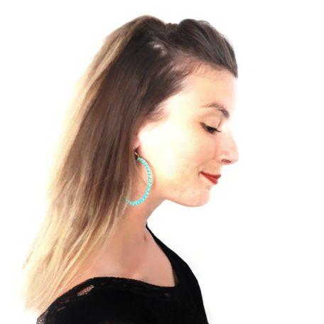 Boucles d'oreilles CIRCUS - vert