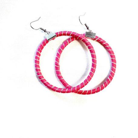 Boucles d'oreilles CIRCUS - Rose