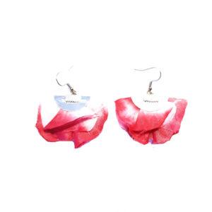 Boucles d'oreilles FLORES - Rose