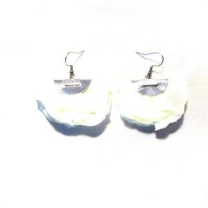 Boucles d'oreilles FLORES - Blanc