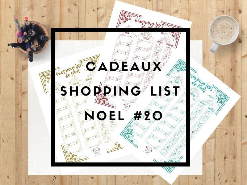 Cadeaux - Shopping List Noël #20