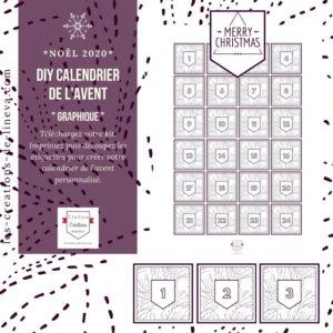 DIY calendrier de l'avent #09