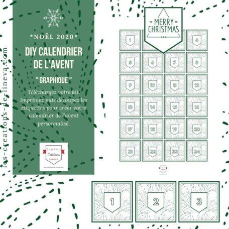 DIY calendrier de l'avent #17