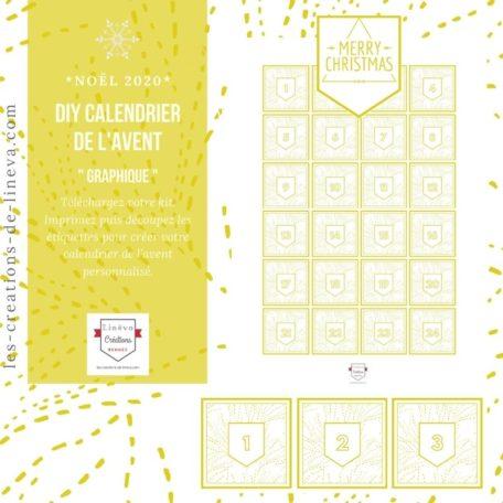 DIY calendrier de l'avent #25