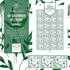 DIY calendrier de l'avent #19