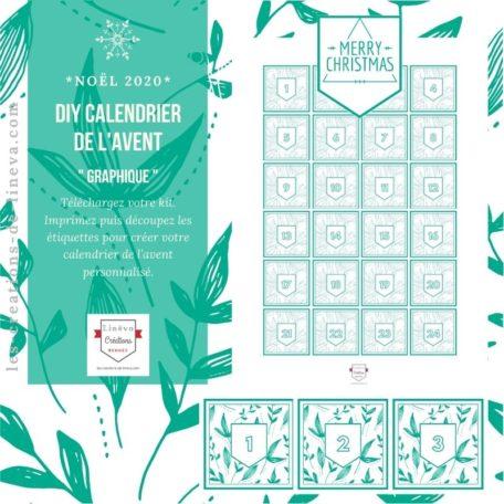 DIY calendrier de l'avent #23