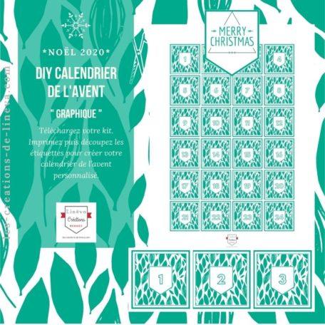DIY calendrier de l'avent #24
